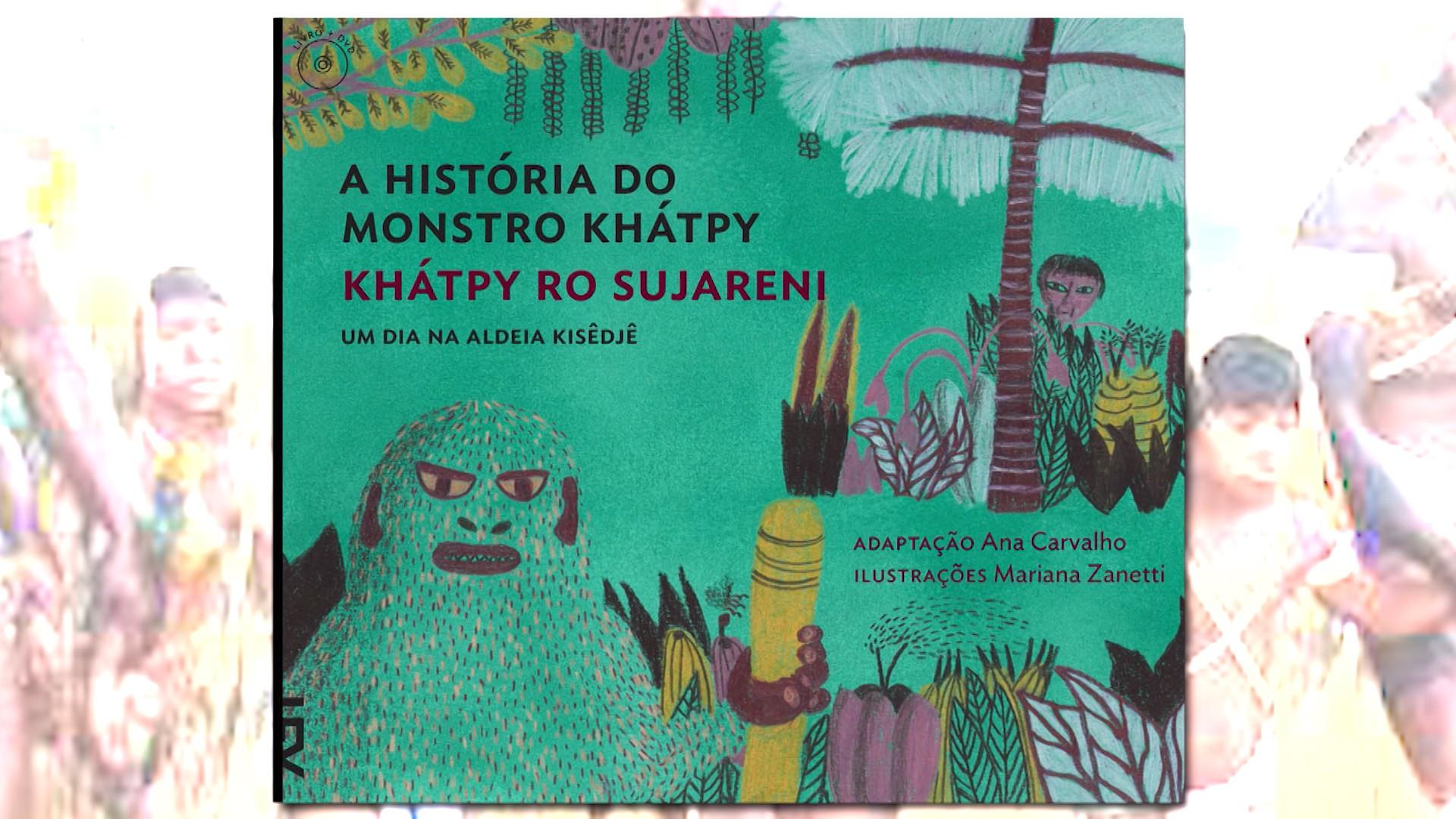 Cada livro é escrito em português e na língua falada na tribo onde a história acontece (Foto: Divulgação)