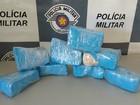 Homem é preso com tabletes de crack escondidos em mochila em Itu