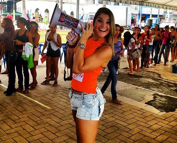 Letícia Weiss em Cruzeiro do Sul