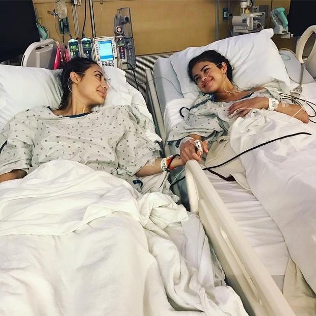 Selena Gomez e Francia Raisa (Foto: reprodução/Instagram)