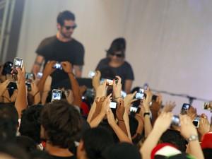 Pitty e Martin apresentam Agridoce e agradam público em Taubaté (Foto: Raquel Marques/ Studio Olhares)