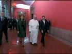 Papa discursa por justiça social e contra tráfico e corrupção no México