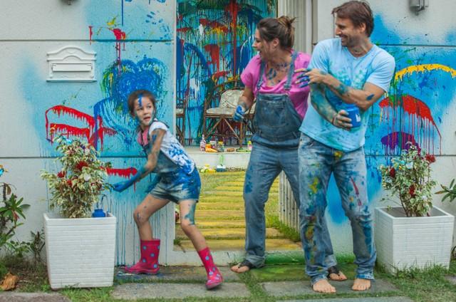 Letícia Braga, Fernanda Machado e Murilo Rosa numa cena do filme 'A menina índigo' (Foto: Divulgação/ Ique Esteves)