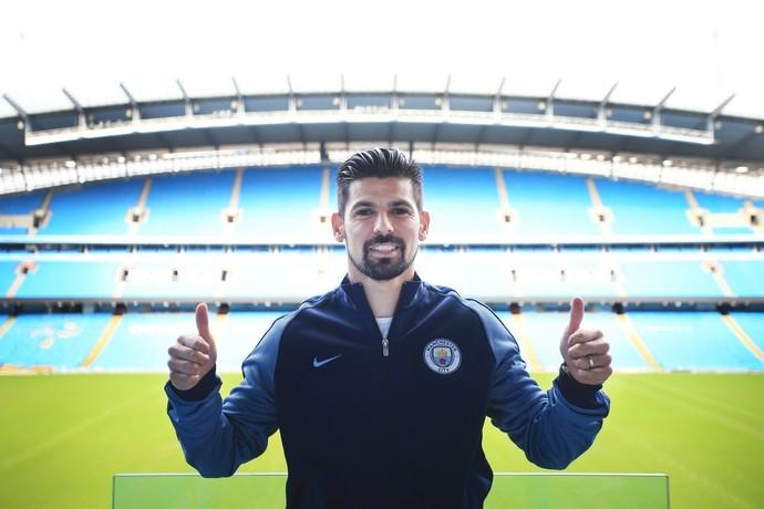 Nolito Manchester City (Foto: Divulgação/Site oficial do City)
