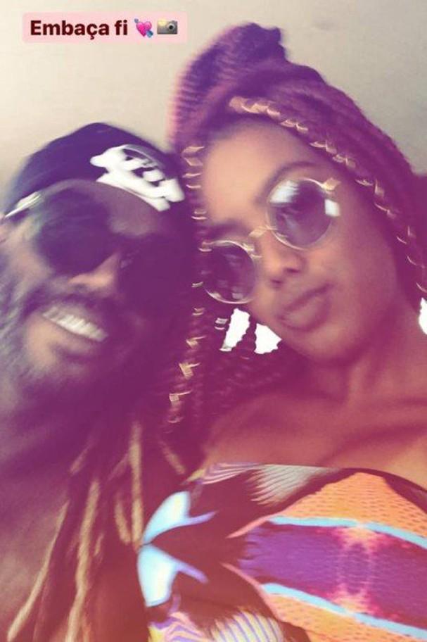 Jonathan Azevedo assume namoro com Lellêzinha (Foto: Reprodução/Instagram)