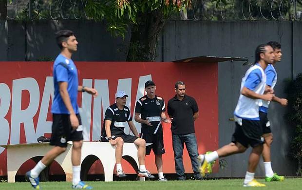 Santos - Treino - CT Rei Pelé (Foto: Ivan Storti/Divulgação Santos FC)