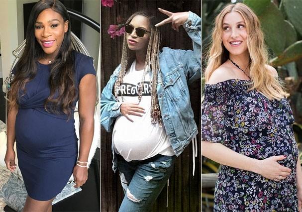 Serena Williams, Beyoncé e Whitney Port (Foto: Reprodução/Instagram)