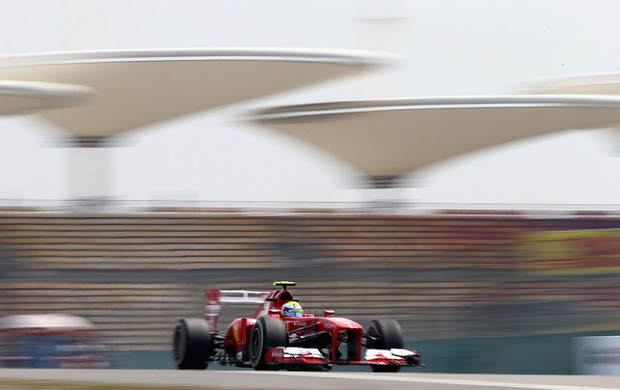 Felipe Massa (Ferrari) nos treinos livres para o GP da China (Foto: Getty Images)