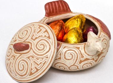 ovo-ceramica-amazonia-fruta (Foto: Divulgação)