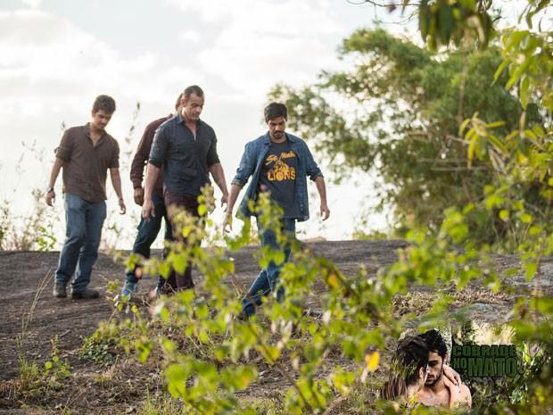 Os capangas do advogado tão loucos pra achar o Cobrade (Foto: Fabiano Battaglin/Gshow)