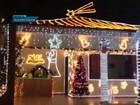 Mulher compra 300 m de iluminação para enfeitar casa no DF no Natal