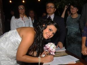 Cerimônia coletiva de casamento homoafetivo assegura direitos à comunidade LGBT (Foto: Carlos Sodré/Agência Pará)