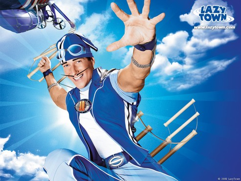 screenshot de Papel de Parede: LazyTown