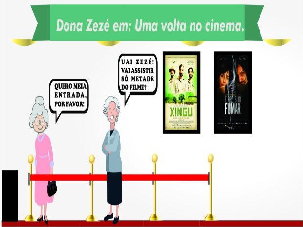 Temas são debatidos através de personagem Dona Zezé  (Foto: Divulgação)