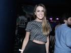 Ex-BBB Angela Munhoz mostra perfil fininho em show da Preta Gil