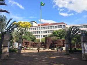 PUCRS, Porto Alegre, eleições (Foto: Diego Guichard/GloboEsporte.com)