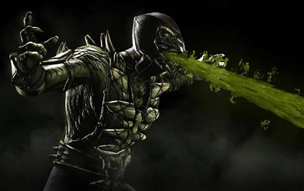 Reptile é novo lutador confirmado de 'Mortal Kombat X' (Foto: Divulgação/Netherrealm)