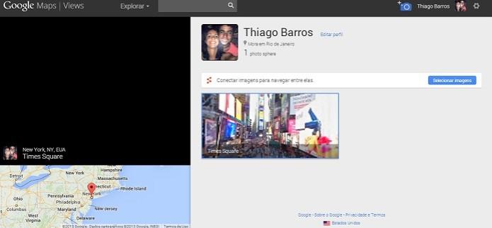 Perfil mostra suas panorâmicas (Foto: Thiago Barros/TechTudo) (Foto: Perfil mostra suas panorâmicas (Foto: Thiago Barros/TechTudo))