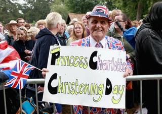 Batizado da Princesa Charlotte - Terry Hutt  (Foto: Getty Images)