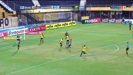 Mirassol vence o São Bernardo e dispara na liderança do Grupo D