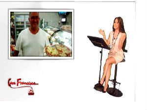 Edição foi ao ar no último dia 22, no programa Cara Francesca, da Rai.TV World (Foto: Reprodução/Cara Francesca)