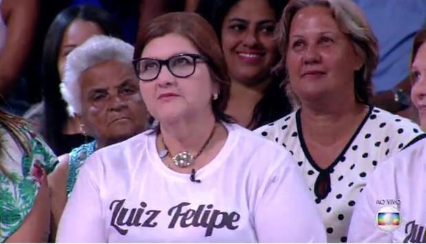 Mãe de Luiz Felipe bomba na web (Foto: Reprodução/Twitter)