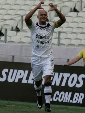 Júlio César, Ceará, atacante (Foto: Kid Júnior/Agência Diário)