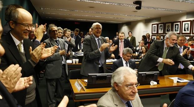 Câmara durante a aprovação do programa Super Simples (Foto: Agência Sebrae)