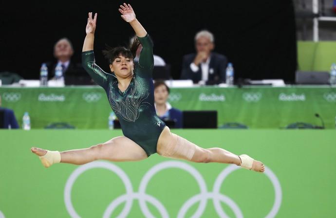 Alexa Moreno sofreu com críticas dos internautas à seu peso (Foto: Reuters)