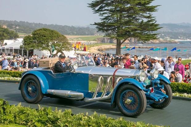 Mercedes-Benz 1929 S Tourer ganhou o Best of Show em Pebble Beach (Foto: Divulgação)