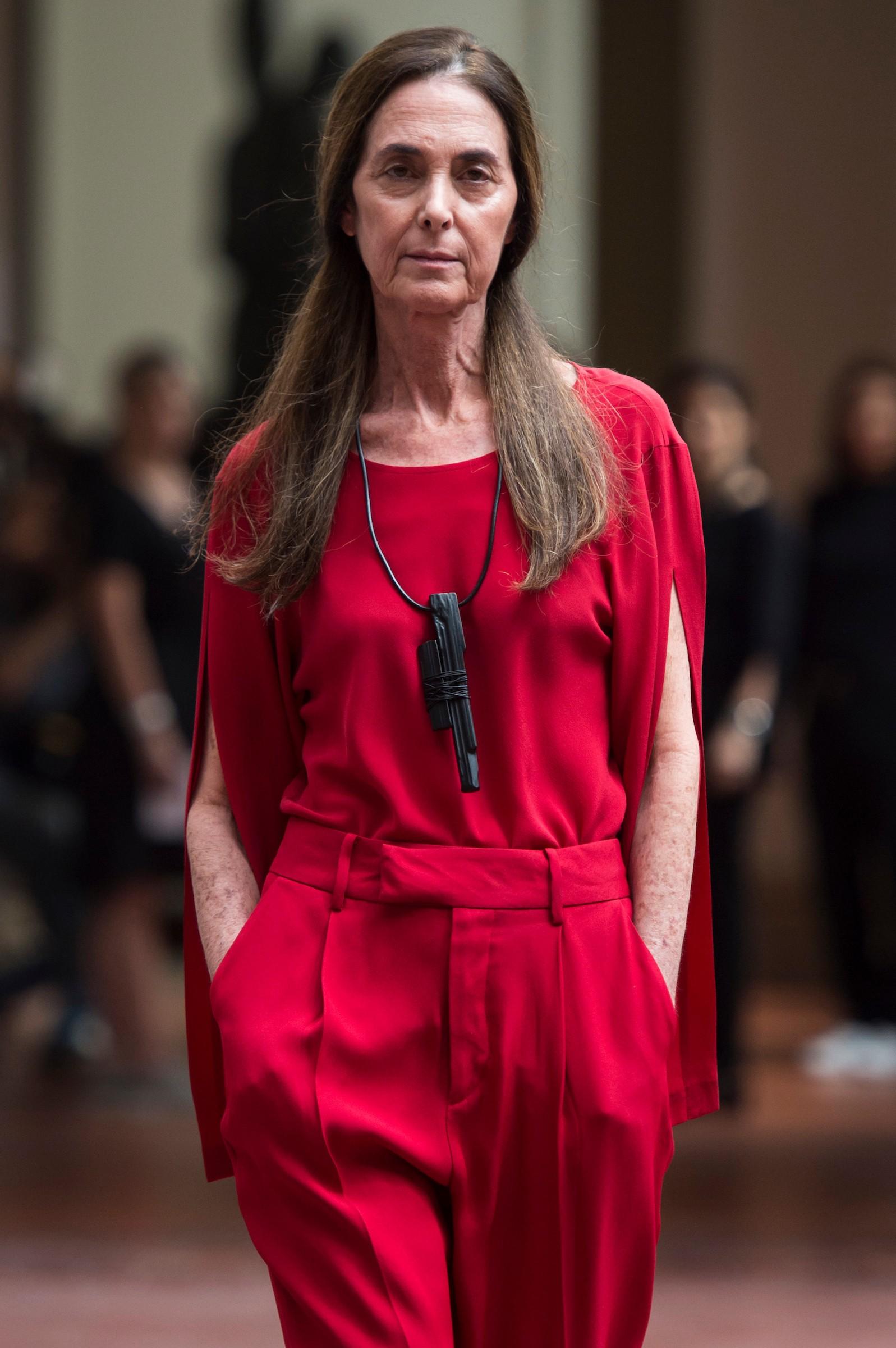 Suzana Kertzer, a modelo de 67 anos da Uma (Foto: Fotosite)