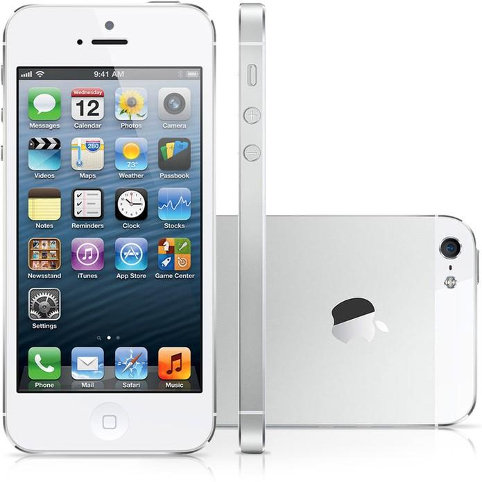 a56007b90cc iPhone 5 é uma opção de celular com tela pequena (Foto: Divulgação/Apple