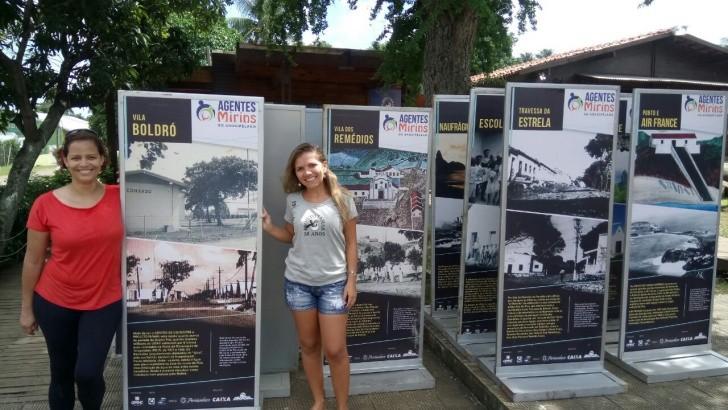 Exposição história da ilha Tamar