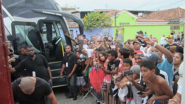 Seedorf Botafogo x Audax (Foto: Fred Huber)