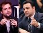 Gregório Duvivier e Marco Feliciano discutem em programa de rádio