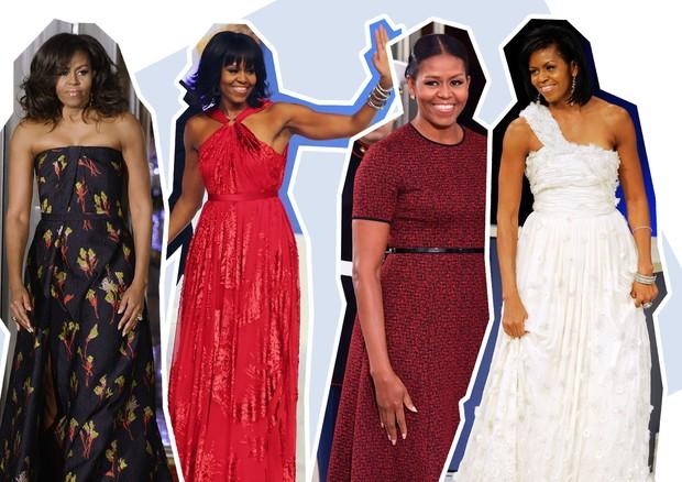 Michelle Obama (Foto: Reprodução e Getty)