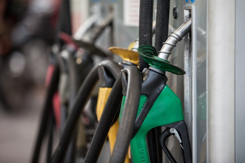 Fortaleza foi a única capital do país a apresentar aumento no preço da gasolina, segundo medição do IPCA (Foto: Marcelo Brandt/G1)