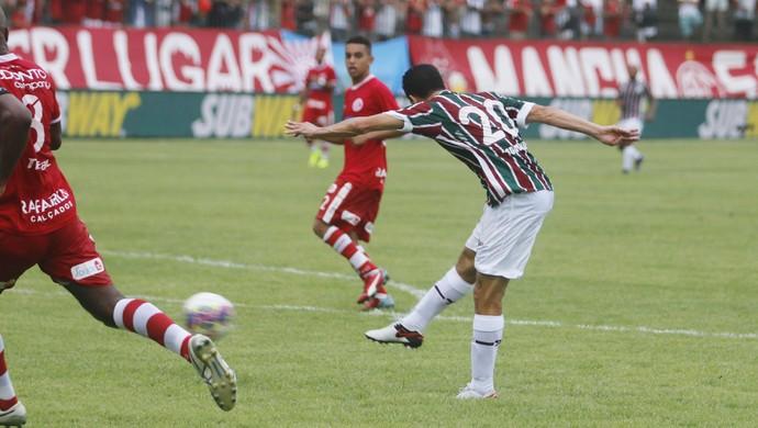 Fluminense x America - Magno Alves (Foto: Gazeta Press)