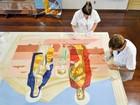 Após restauro, telas do maior acervo sacro de Portinari são recolocadas