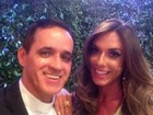Religioso que celebrou casamento de Vesgo elogia Bahls: 'Selfie do pecado'