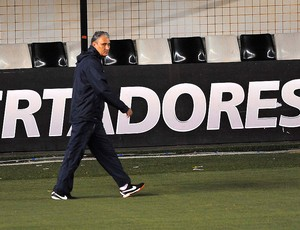 Treino do Corinthians, Tite (Foto: Marcos Ribolli / Globoesporte.com)