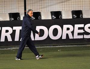 Treino do Corinthians, Tite (Foto: Marcos Ribolli / Globoesporte.com)