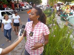Mudanças significativas já podem ser percebidas no Centro da cidade, segundo a titular da Semmas (Foto: Divulgação/Semmas)