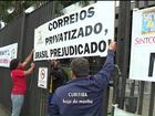 Trabalhadores dos Correios no Paraná aderem à paralisação nacional
