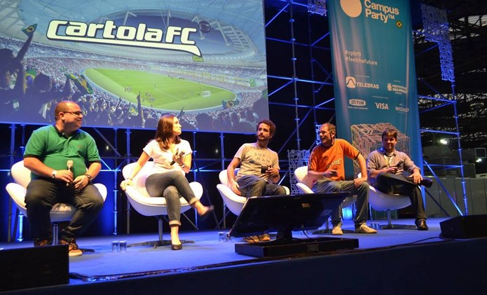 Cartola na Campus Party 2016 (Foto: Melissa Cosseti / TechTudo)