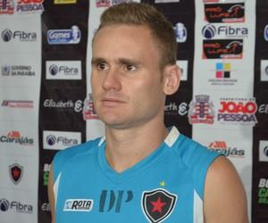 Rafael Aidar, Botafogo-PB, Almeidão (Foto: Lucas Barros / GloboEsporte.com/pb)