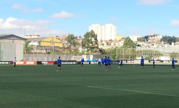 Corinthians treino (Foto: Carlos Augusto Ferrari)