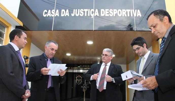 Sede do TJD-AM (Foto: Divulgação/Lissandro Windson)