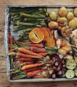 Bacalhau com legumes (Foto:  )