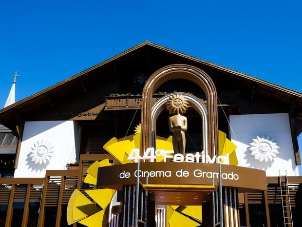 Festival de Cinema de Gramado acontece anualmente na Serra gaúcha (Foto: Edison Vara/Pressphoto )